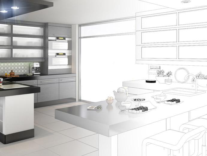 AEF Rénovation, cuisiniste et menuisier, réalise de A à Z votre projet de cuisines sur-mesure.