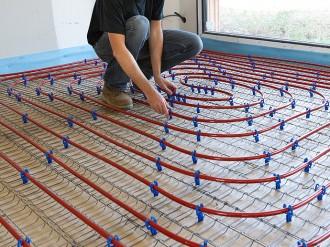 AEF Rénovation assure la pose de votre plancher chauffant en Presqu'île guérandaise.