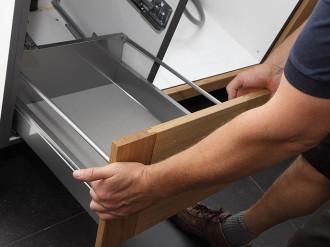 AEF Rénovation, cuisiniste et menuisier, assure la pose et l'installation de votre cuisine dans les règles de l'art !
